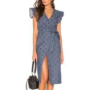 NWT TULAROSA Page Denim Dress